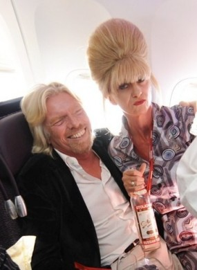 Head Diva with Sir Richard Branson - Leave It To Diva